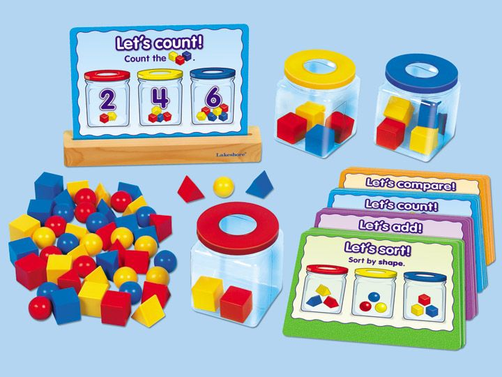 Early Math Activity Jars Lakeshore Learning Number