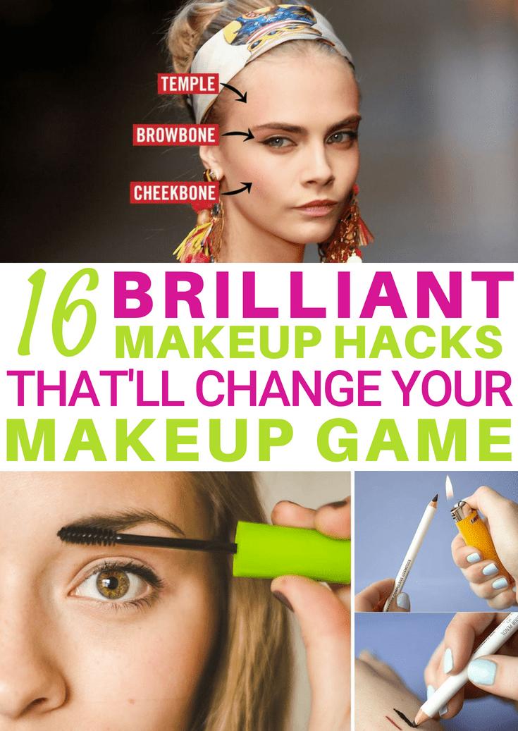 16 Genius DIY Makeup Hacks That'll Transform Your Makeup