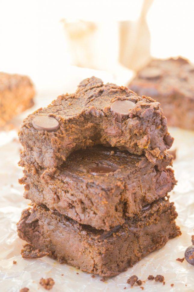 Flourless Sweet Potato Brownies.