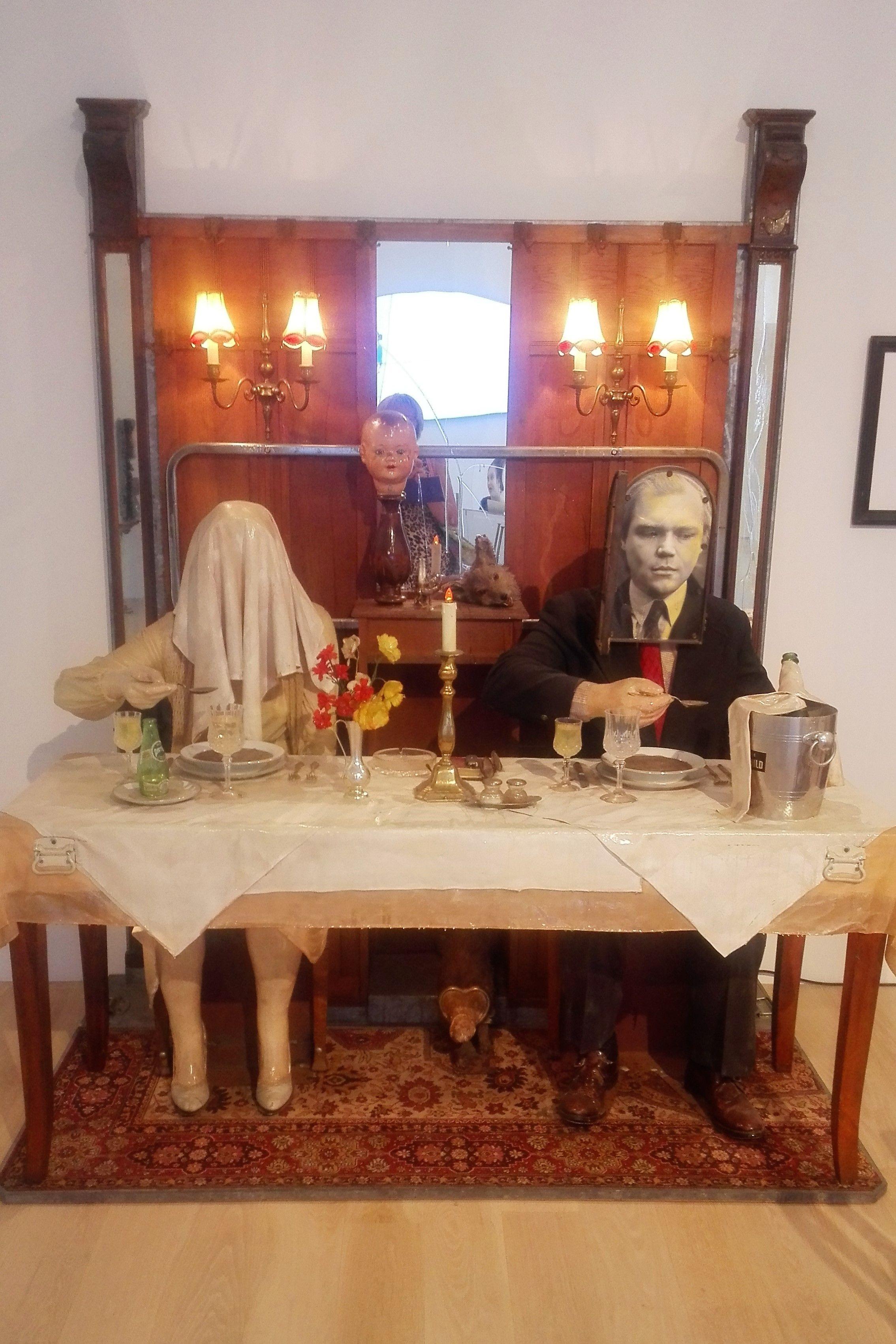 Edward & Nancy Reddin Kienholz, The Soup Course at the She