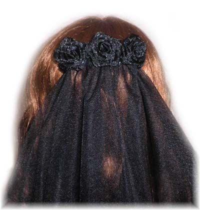 black lace wedding veil - Google Search