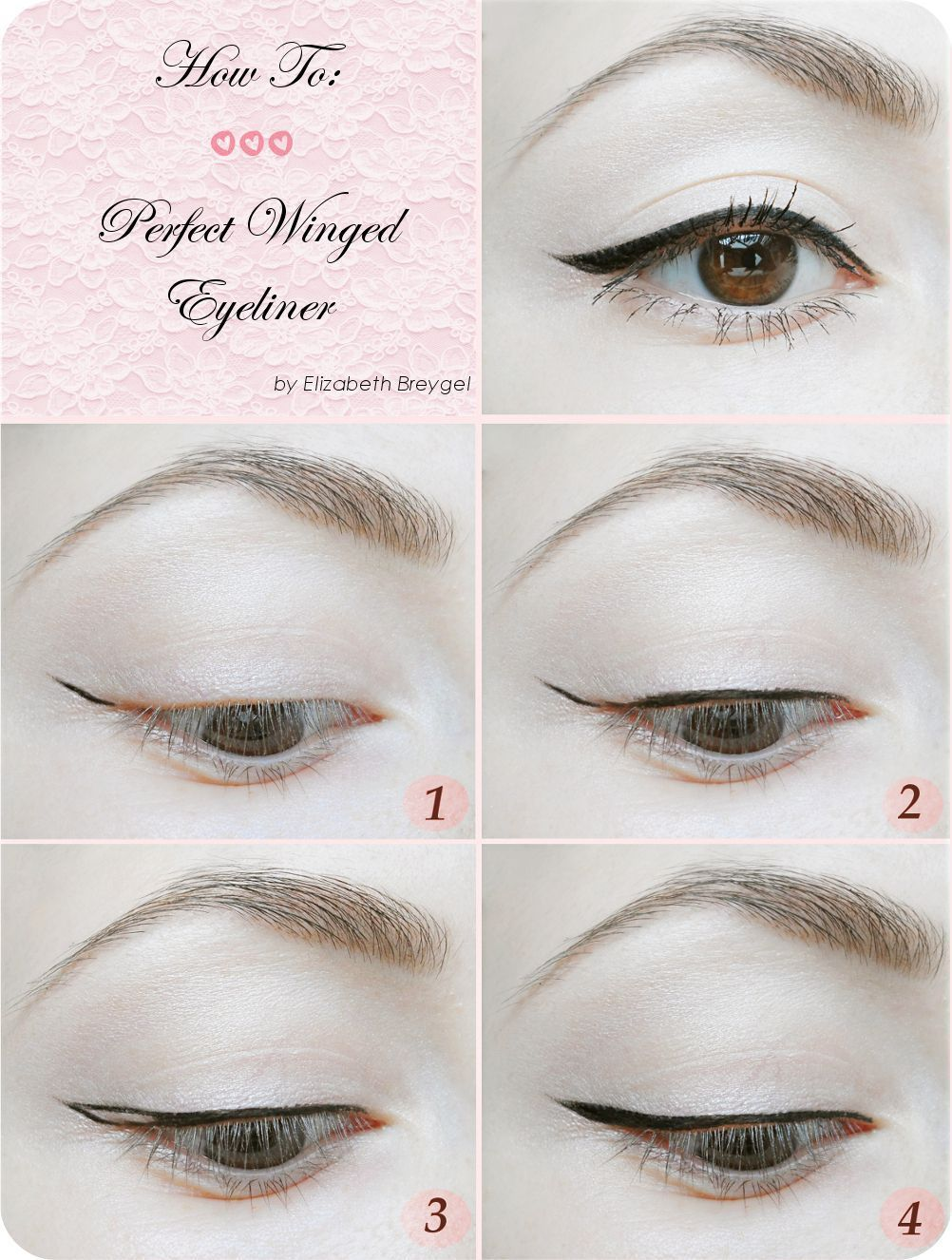 Perfect Winged Eyeliner Tutorial