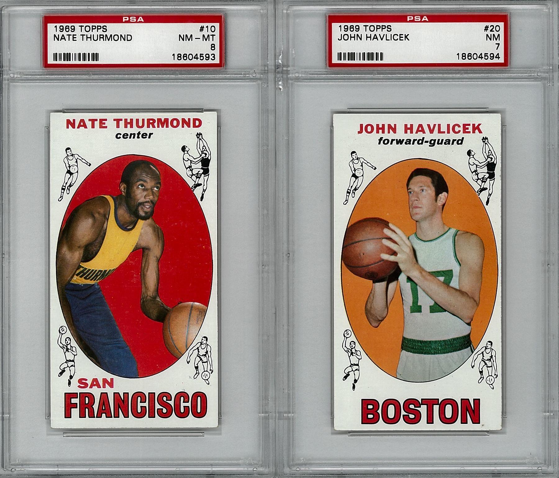 196970 topps basketball complete set nmmt basketball
