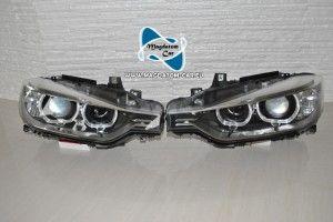2x Gebrachte Original Scheinwerfer Bixenon Xenon Led Fur Bmw 3 F30