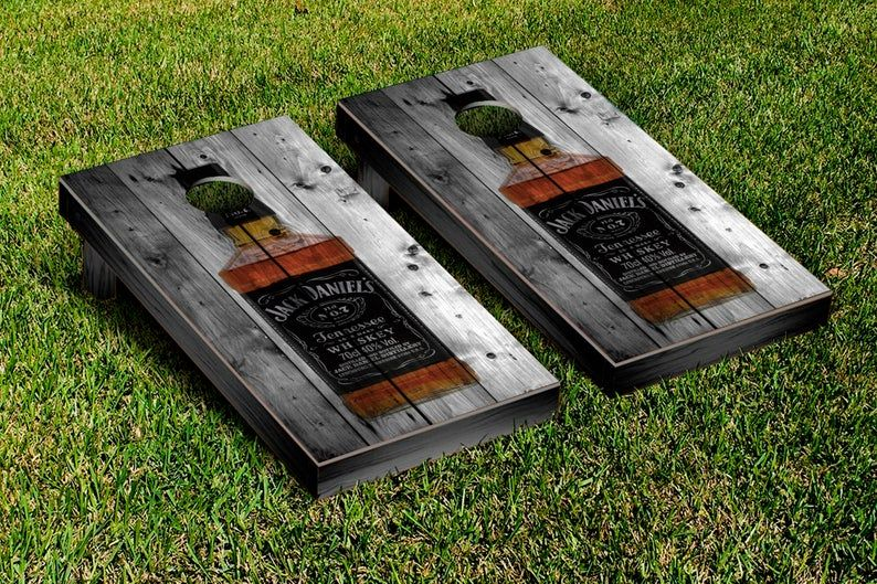 Jack daniels Decals Vinyl Sheets For Wrapping Cornhole