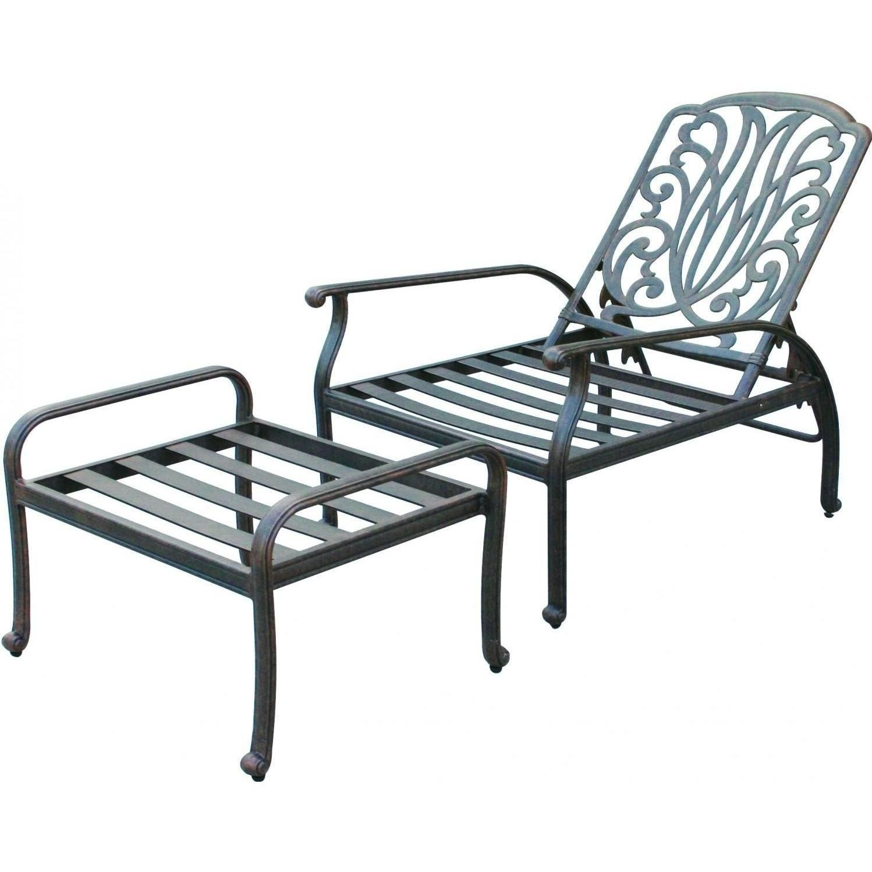 darlee elisabeth cast aluminum patio reclining club chair and rh pinterest com Outdoor Reclining Chair with Ottoman Outdoor Reclining Chair with Ottoman