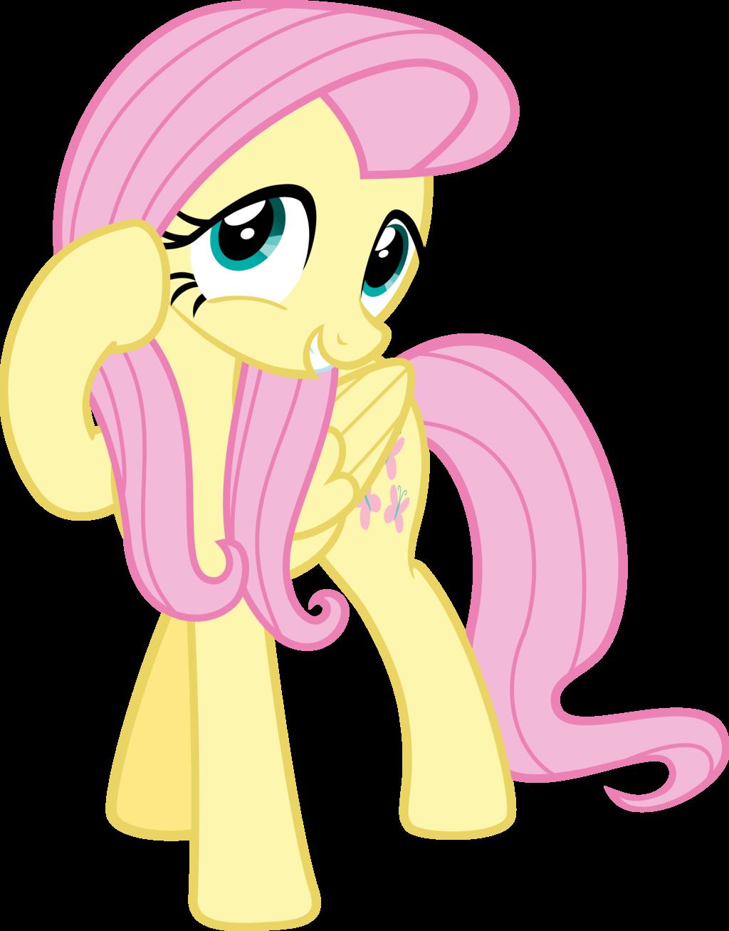 Increíble Mi Pequeña Amistad Pony Es Mágica Para Colorear Fluttershy ...