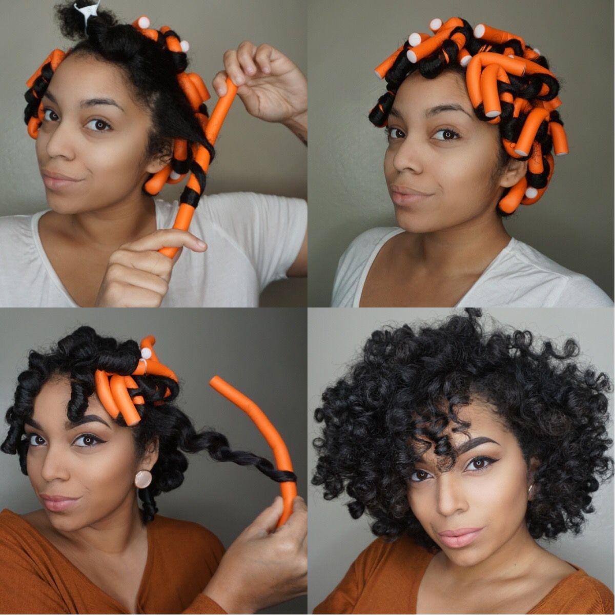 flexi rod set. perfect heatless curls. tutorial over at