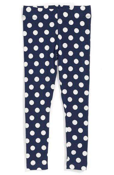 0655a3c07b1cc Mini Boden Polka Dot Leggings (Toddler Girls, Little Girls & Big Girls)  available at #Nordstrom