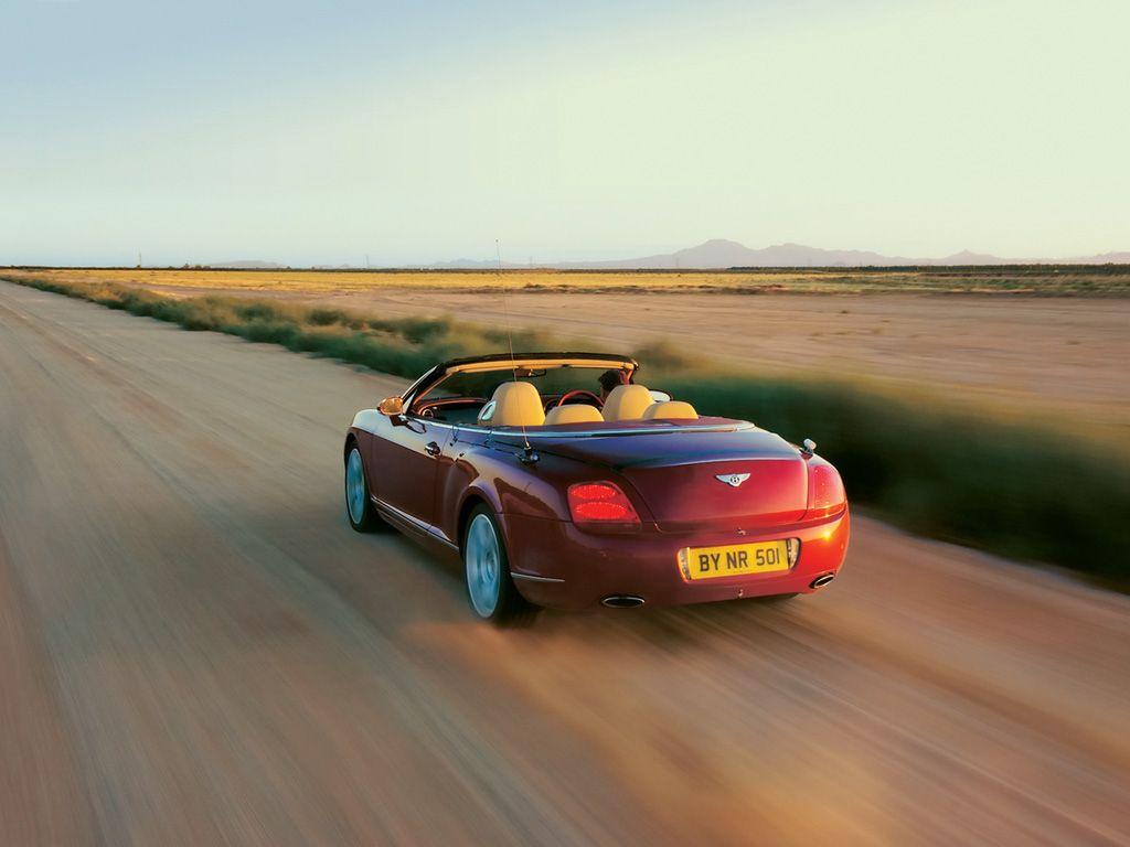 2007 Bentley Continental GTC HD Widescreen Wallpapers Exotic Car