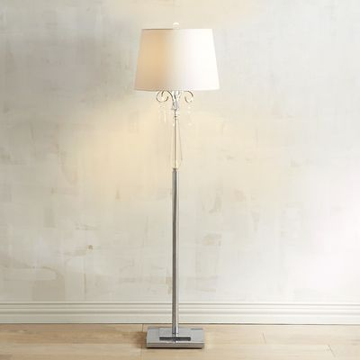 Crystal Elegance Floor Lamp With Images Floor Lamp