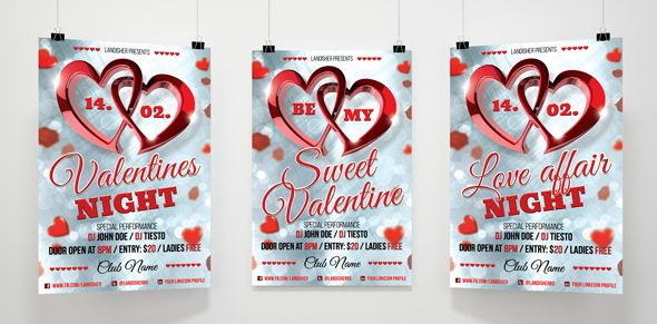 Valentines Day Flyer Template Flyer template - examples of a flyer