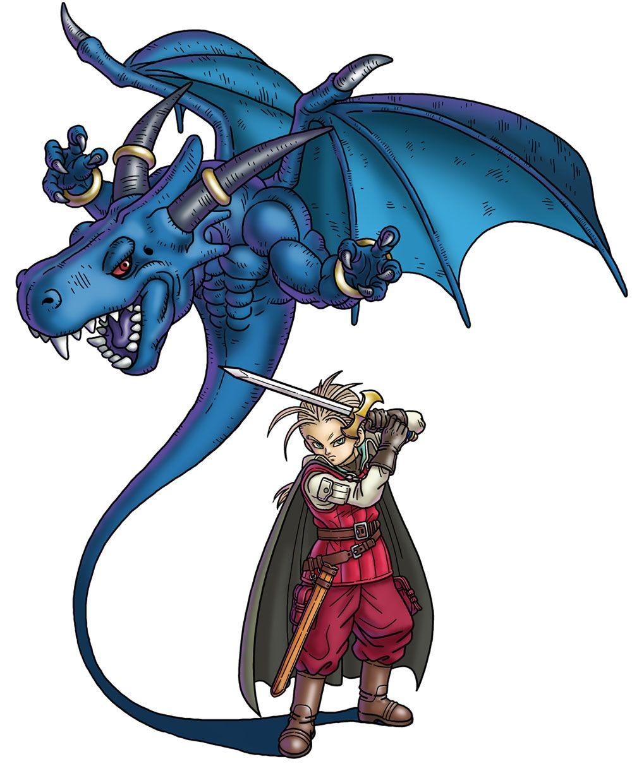 King Jibral from Blue Dragon Awakened Shadow Blue dragon