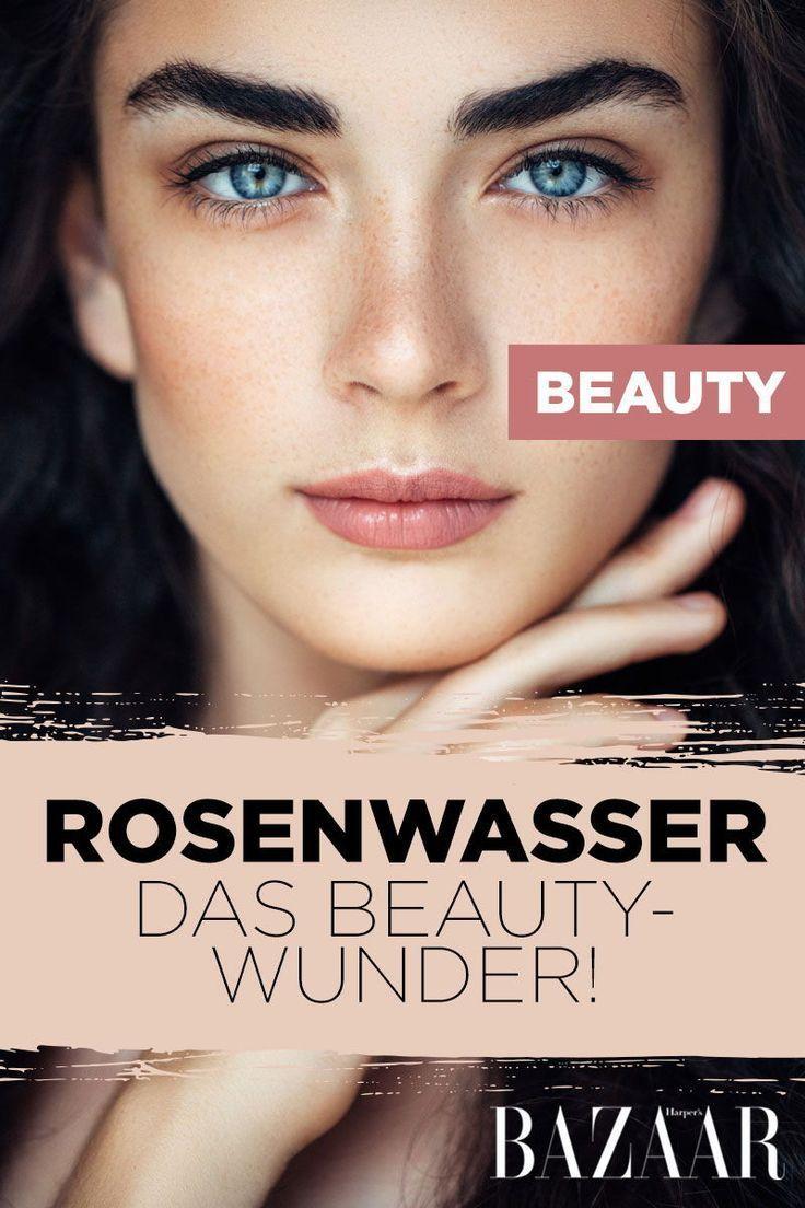 Beauty-Trend Rosenwasser: So wirkt es für schöne Haut und Haare