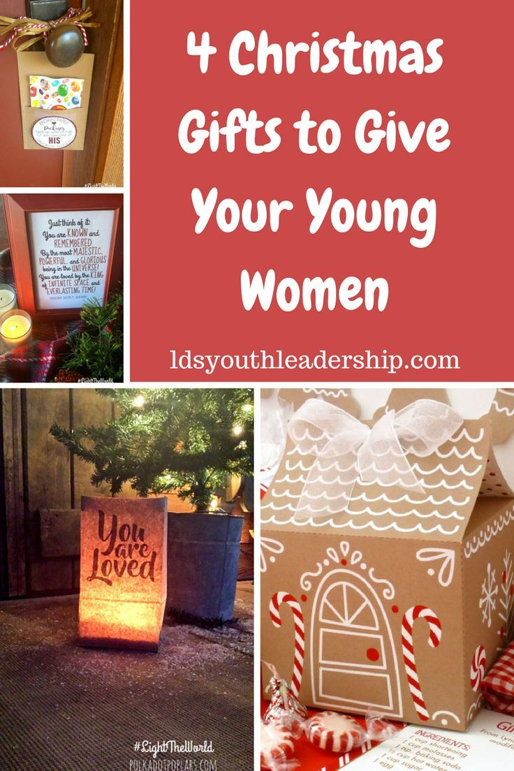 4 Great Christmas gift ideas for LDS young women!: | young women ...