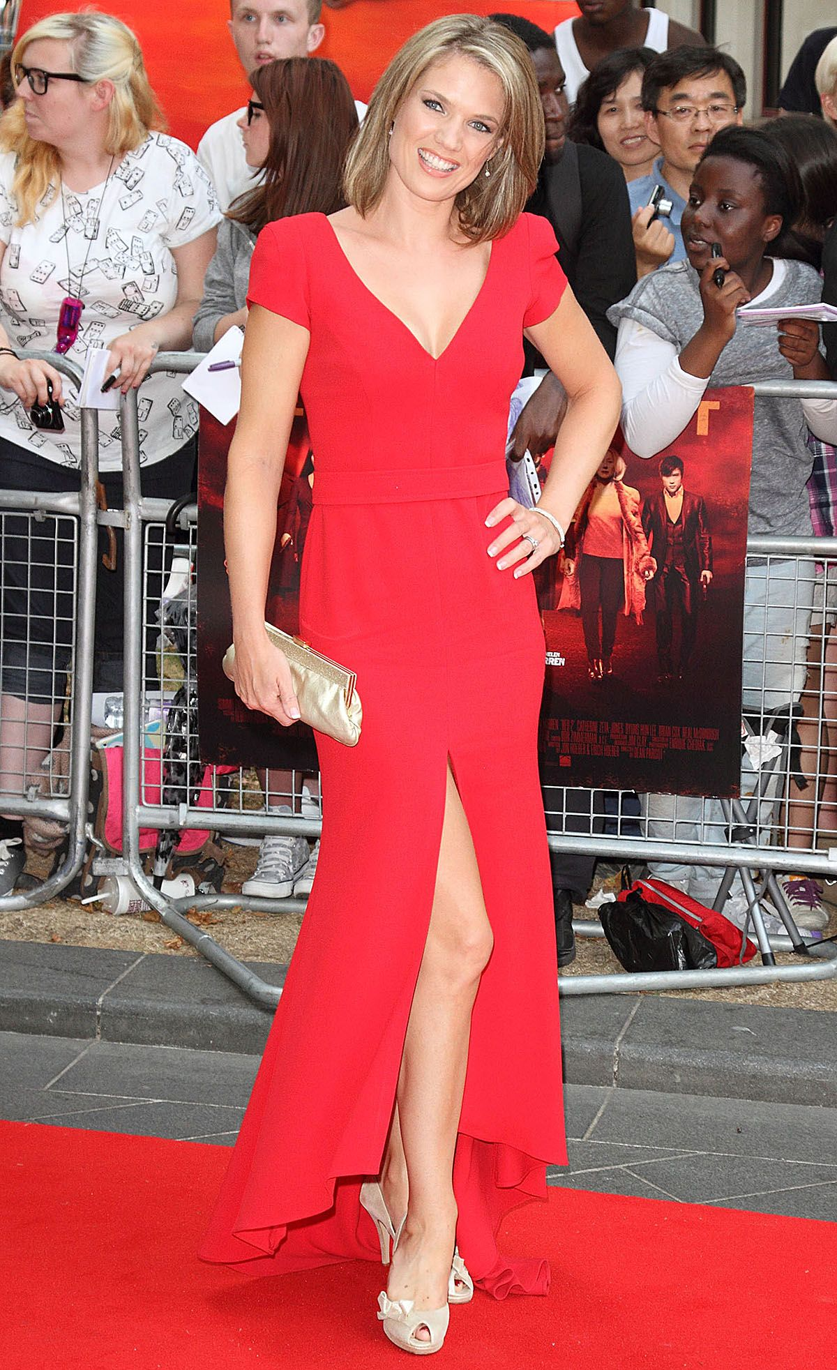 Charlotte Hawkins – European Premiere of 'Red 2′ at Empire Leicester Square in London 22.07.13