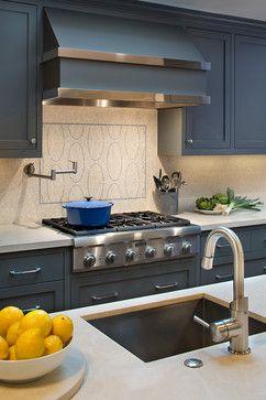 Menlo Park Grey Kitchen Cabinet Color Benjamin Moore Deep