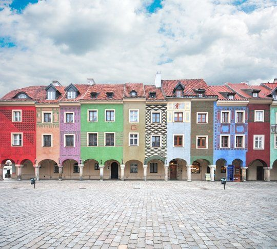 Apartments Around The World: Exterior Inspiration: Colorful Row Houses Around The World