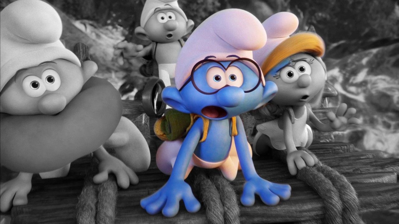 Smurfs The Lost Village Coloring Pages - Kids Coloring Book ...