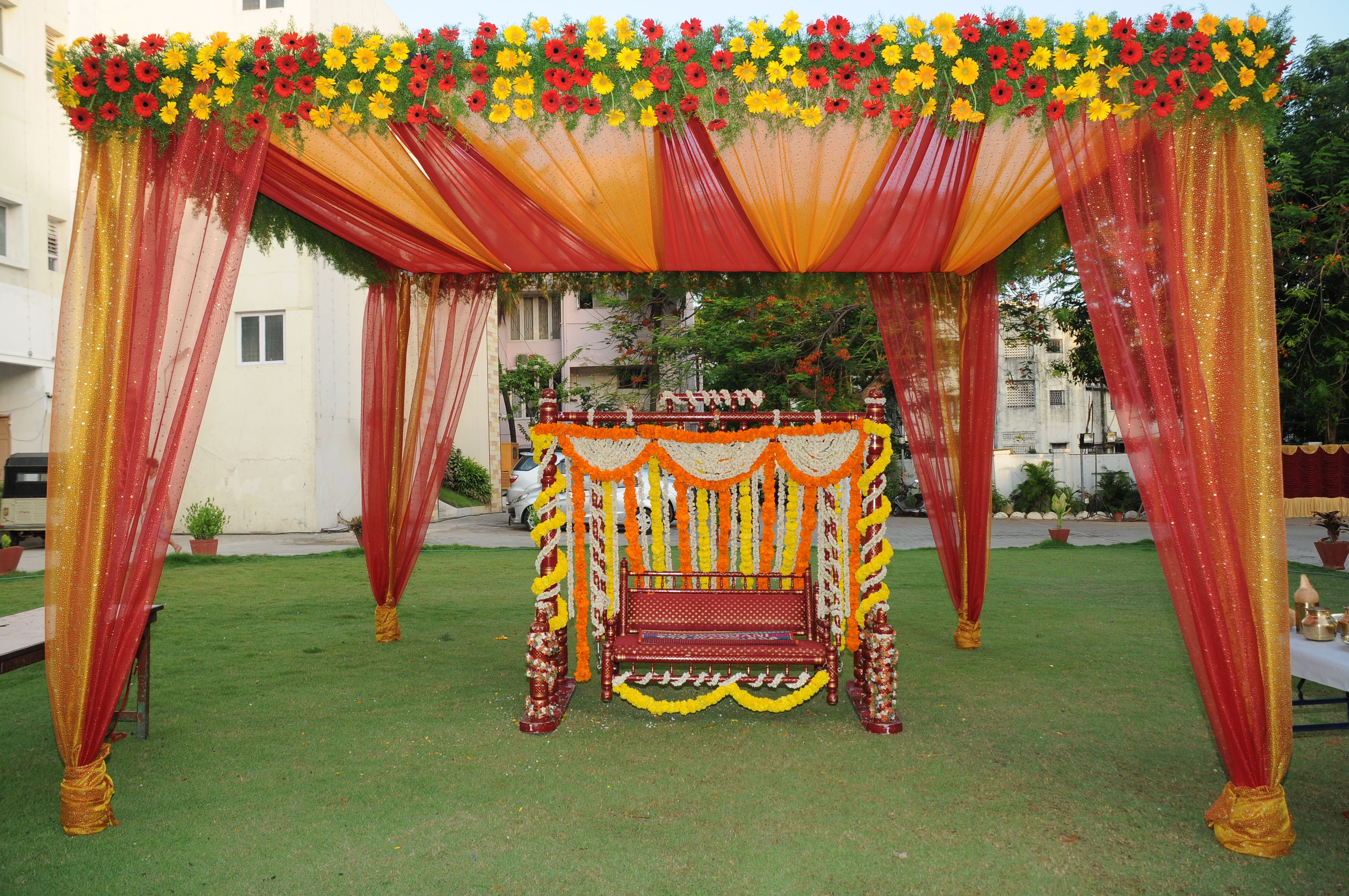 south indian wedding special oonjal decoration weddings