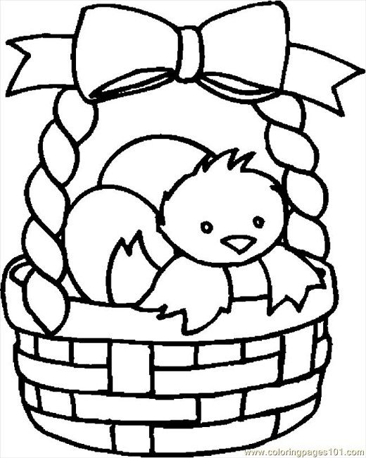 Easter Basket Coloring Pages To Print Easter Coloring Pages Easter Coloring Pictures Easter Colouring