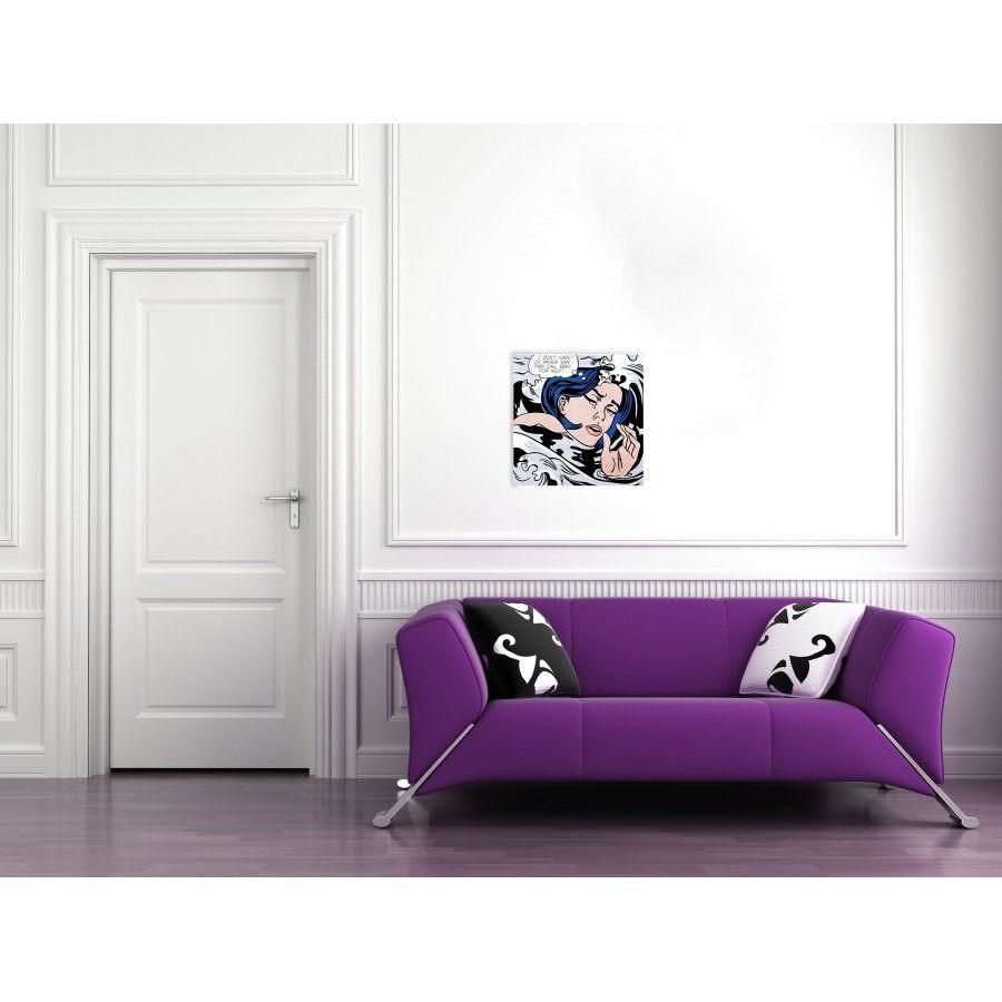 LICHTENSTEIN - Drowning Girl 55x55 cm #artprints #interior #design #art #print #iloveart #followart #artist #fineart #artwit  Scopri Descrizione e Prezzo http://www.artopweb.com/autori/roy-lichtenstein/EC16403