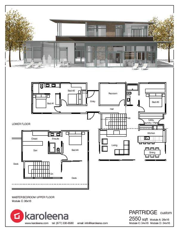 Modern Prefab Designs Modern Prefab Homes Prefab Homes House Plans