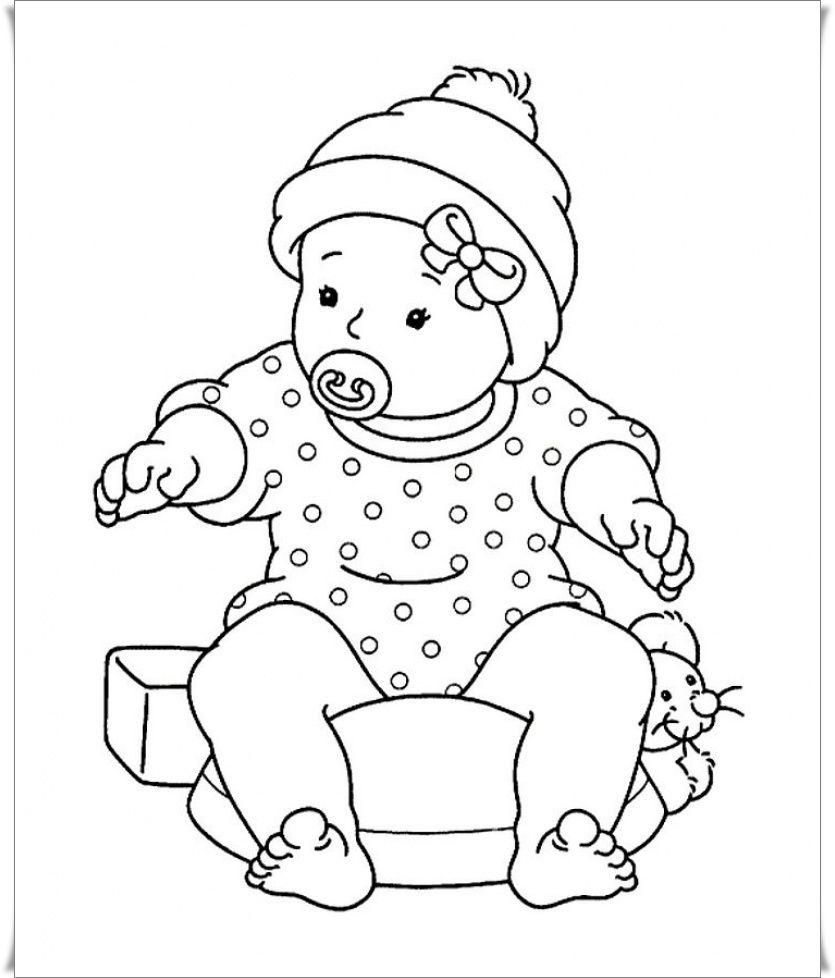 Baby Ausmalbilder Ausmalbilder Fur Kinder Cute