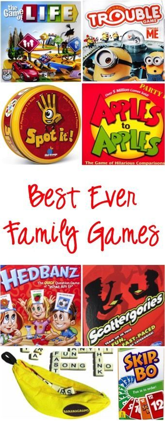 Best Family Game Night Games!  Make memories and have some serious fun with these old favorites and fun new finds both kids and adults will LOVE! | TheFrugalGirls.com