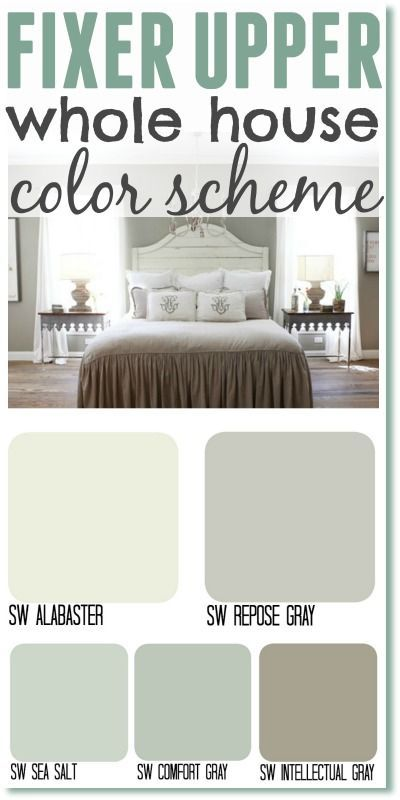 fixer upper paint colors: joanna's 5 favorites | fixer upper paint