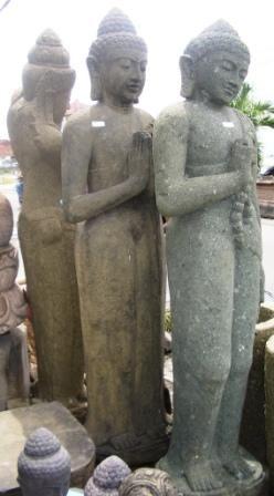 lavastone standing Buddha That Bali Shop - Sydney, Northern Beaches