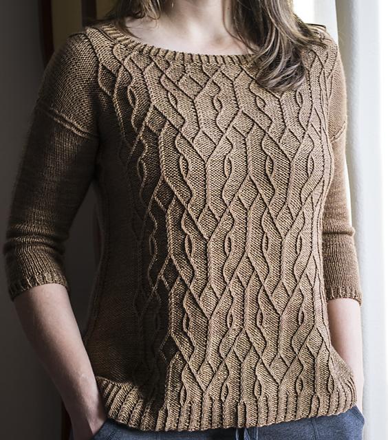 Ravelry: Aviara pullover pattern by Irina Anikeeva