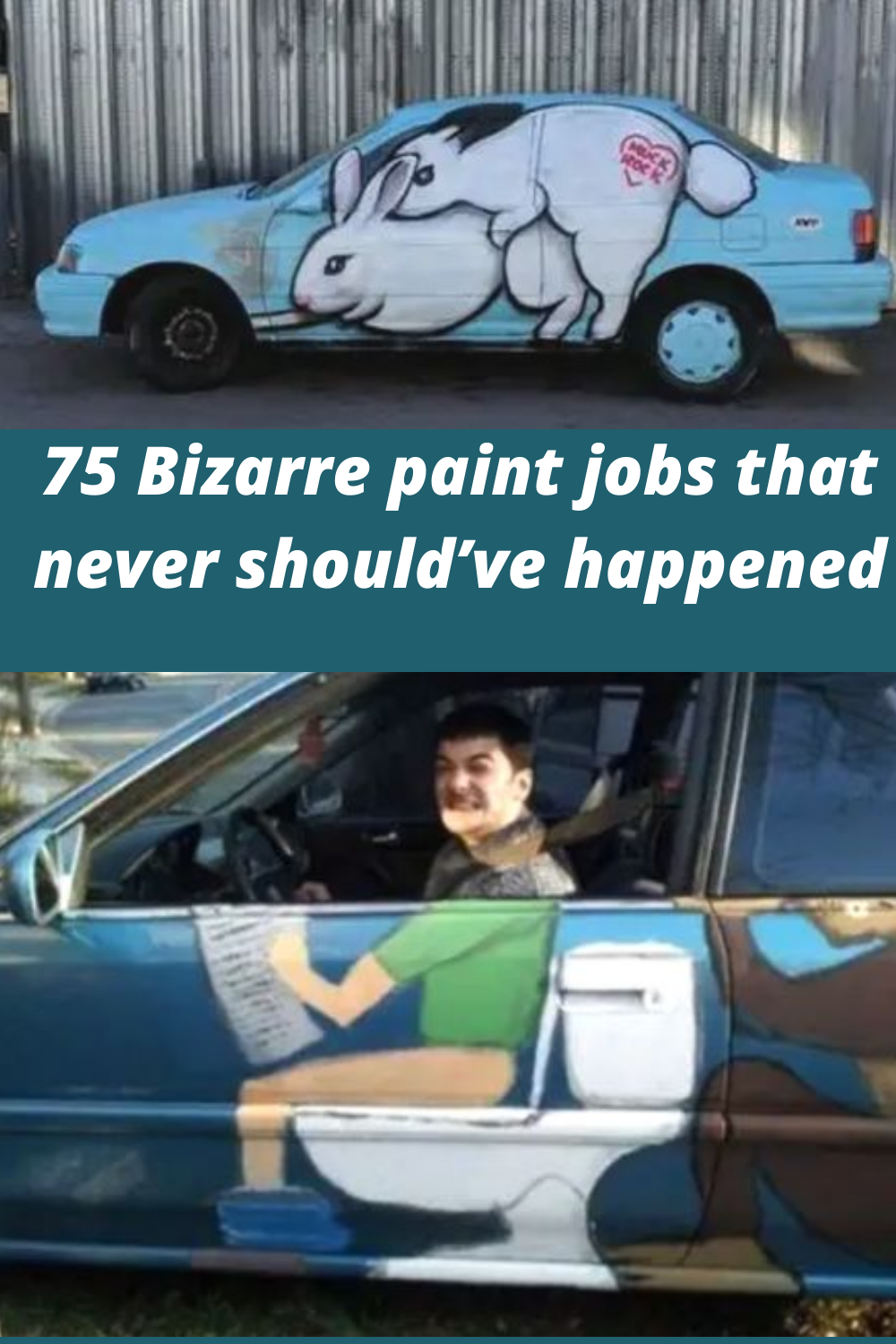 75 Bizarre Paint Jobs That Never Should Ve Happened In 2020