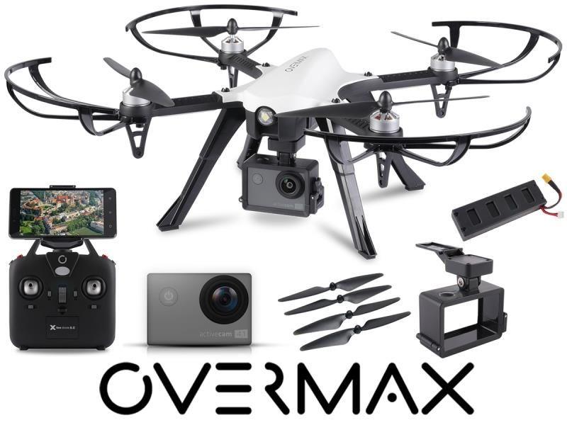 Dron Overmax X Bee Drone 8.0 Kamera 4K WiFi Szybki | Sklep ... on