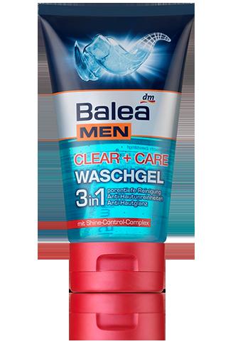 Balea MEN clear care Waschgel | Men Care | Cleaning ...