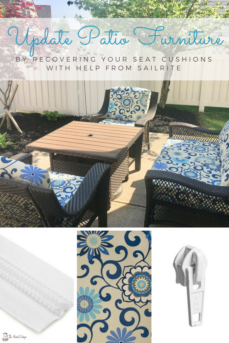 sewing patterns for patio chair cushions geeken revolving update furniture with fabric from sailrite by recovering your seat