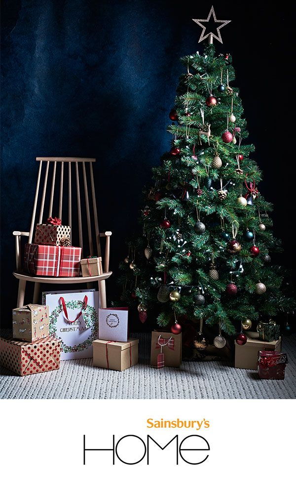 Take the traditional approach to styling your home this Christmas.  Sainsbury's Home has a range - Take The Traditional Approach To Styling Your Home This Christmas