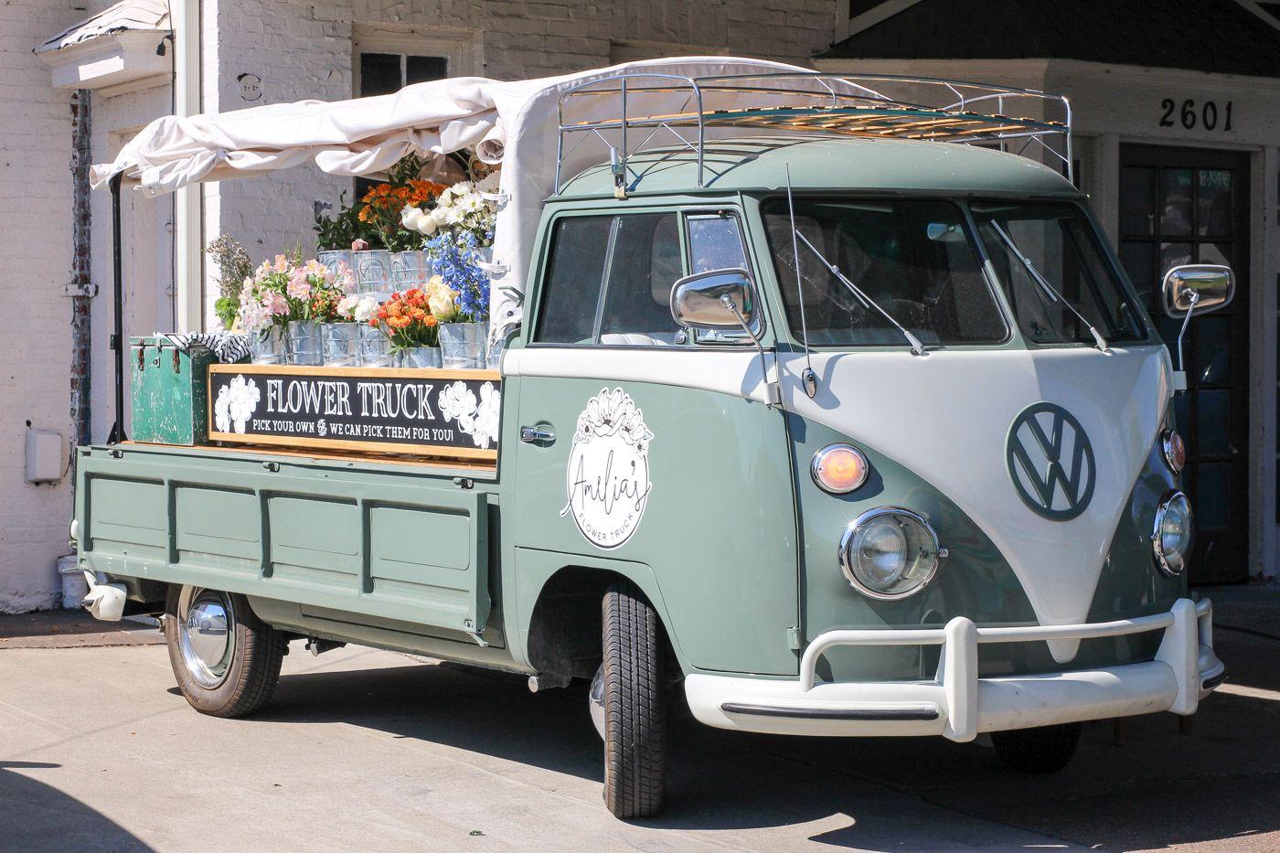 Image result for mobile flower shop Flower truck