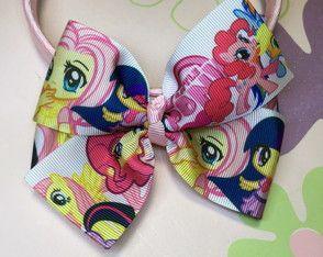 Tiara Rosa Laço My Little Pony
