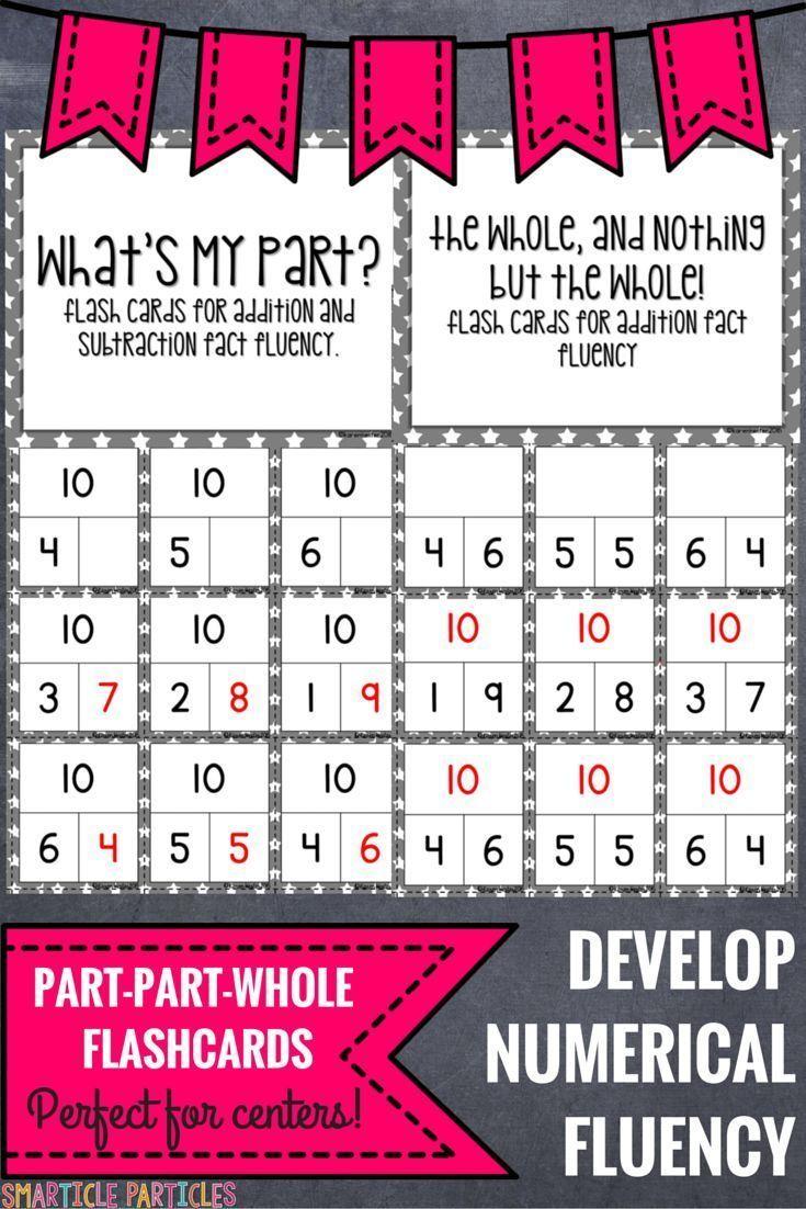 Flash Cards: Part-Part-Whole