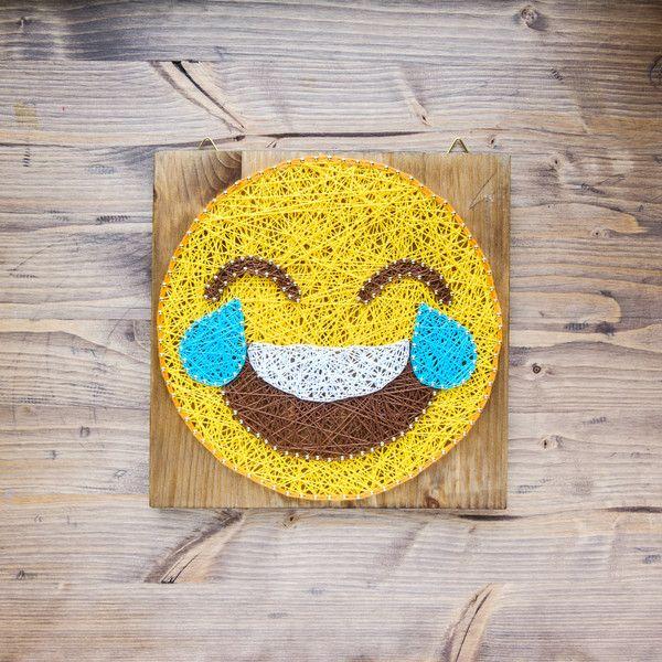 Emoji Wall Art Decor   Emoji, Walls and String art