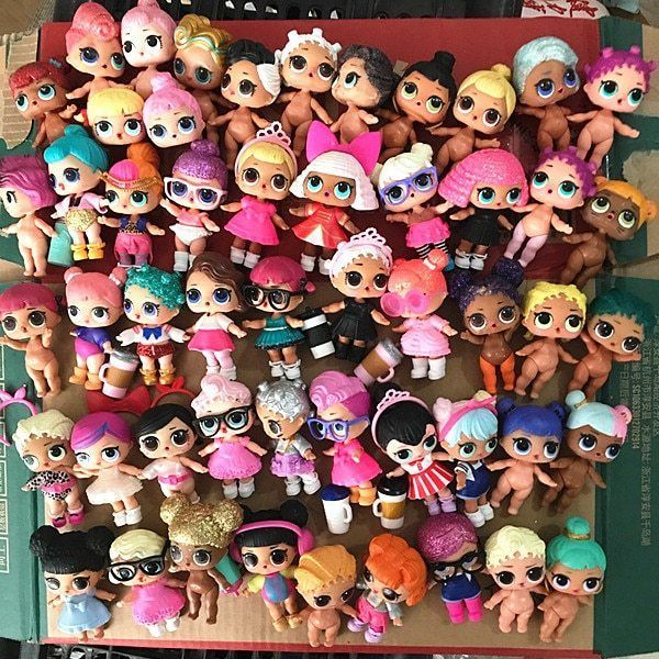 girl gift toy Baby Kids Doll Glitter Series Fancy Big Sister Real gift toy