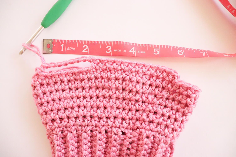 Crochet basic dog sweater free step by step tutorial