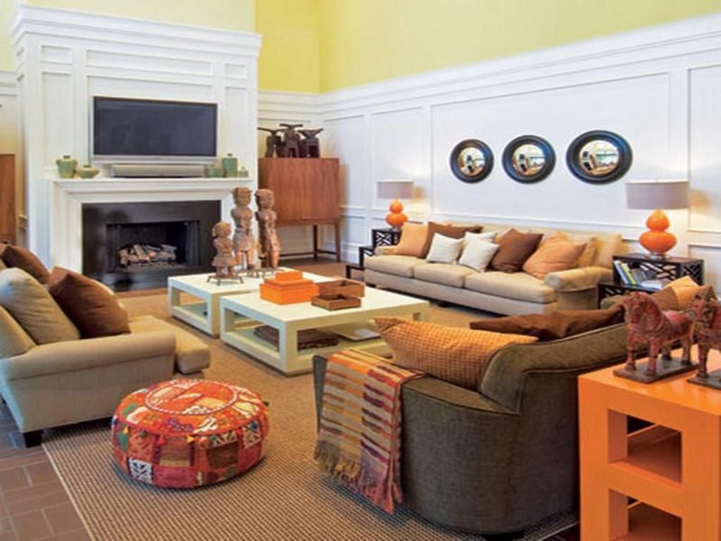Family Room: Modern Arabian Interior Design For Small Family ...
