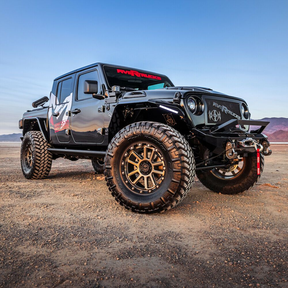 2020 Jeep Wrangler Black With Bronze Accents 2020 Jeep Gladiator