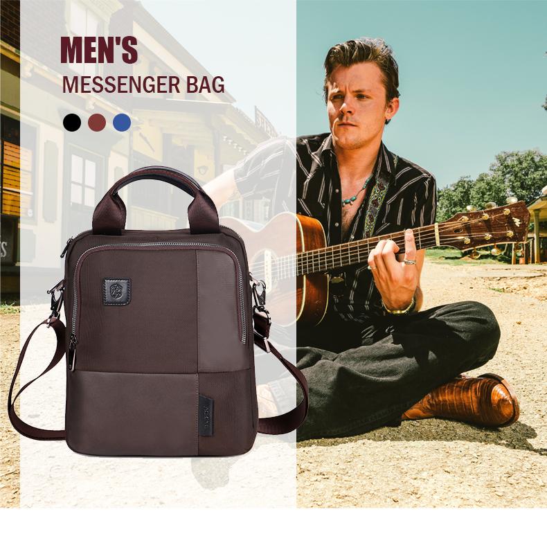 Photo of US $26.95 45% OFF|Business Men's Anti theft Shoulder Bags Office School Waterproof Crossbody Bag Patchwork For Men Work Messenger Bags XA267ZC|Crossbody Bags| |  – AliExpress