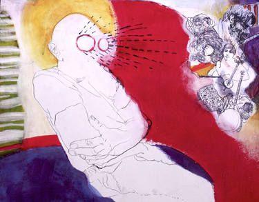 "Saatchi Art Artist Golriz Rezvani; Painting, ""Untitled"" #art"