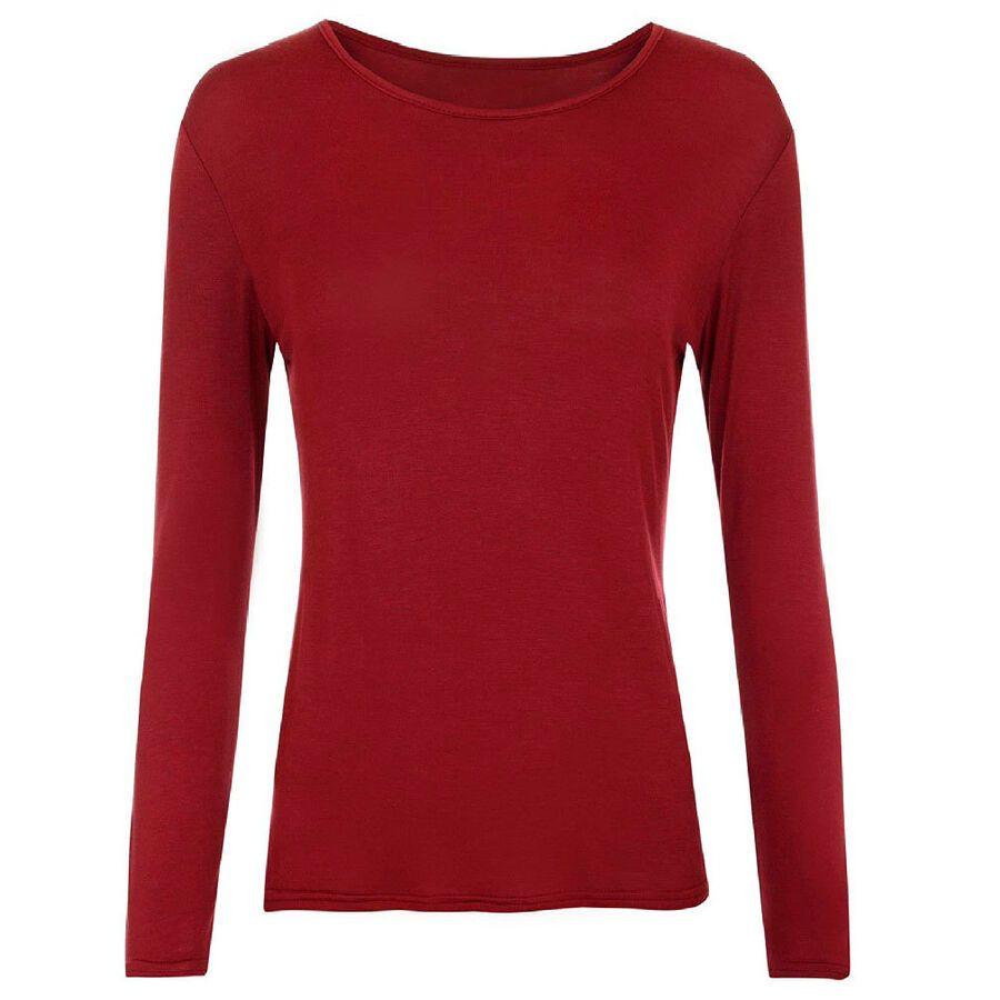 GirlzWalk Kids Girls Plain Long Sleeve Scoop Neck Shirt Basic Stretchy Top