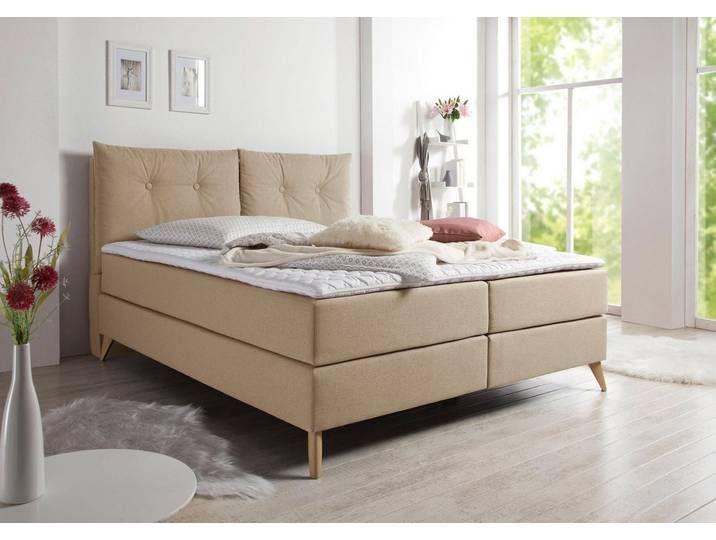 Home Affaire Boxspringbetten Victoria 140x200 Cm H2 Braun Das Boxspringbett Victoria Von Home Affair In 2020 Box Spring Bed Furniture Living Room Designs
