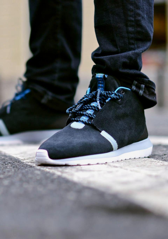 Livraison gratuite profiter 2018 Course Nike Roshe Nm Sneakerboot Noir / Gris Magnétique amazone 13DaY